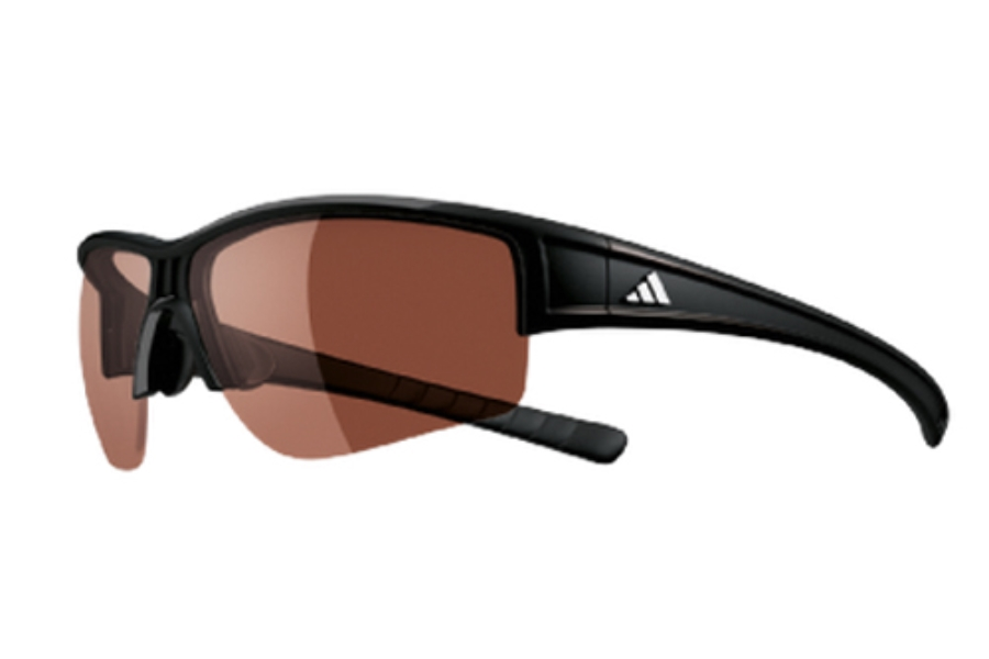 Adidas a410 Evil Cross Halfrim L Sunglasses in 6050 Black (Discontinued)