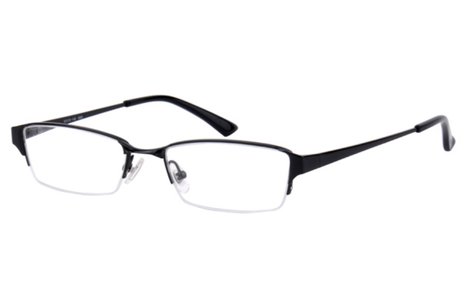 Amadeus A928 Eyeglasses in MBK MATTE BLACK