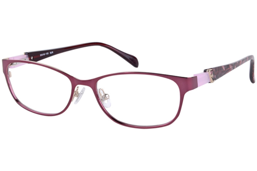 Amadeus A962 Eyeglasses in BG Burgundy