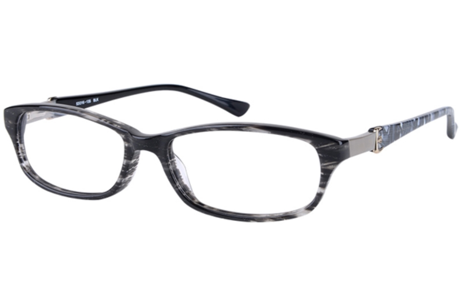 Amadeus A964 Eyeglasses in BLK Black