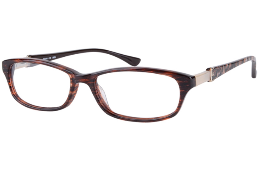 Amadeus A964 Eyeglasses in BRN Brown