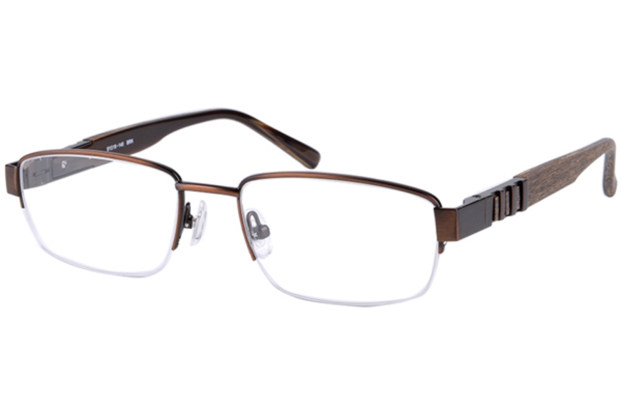 Amadeus A966 Eyeglasses in BRN Brown