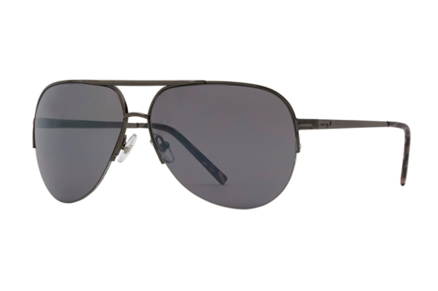 Anarchy Cece Sunglasses in Dark Gun w/ Smoke Lenses