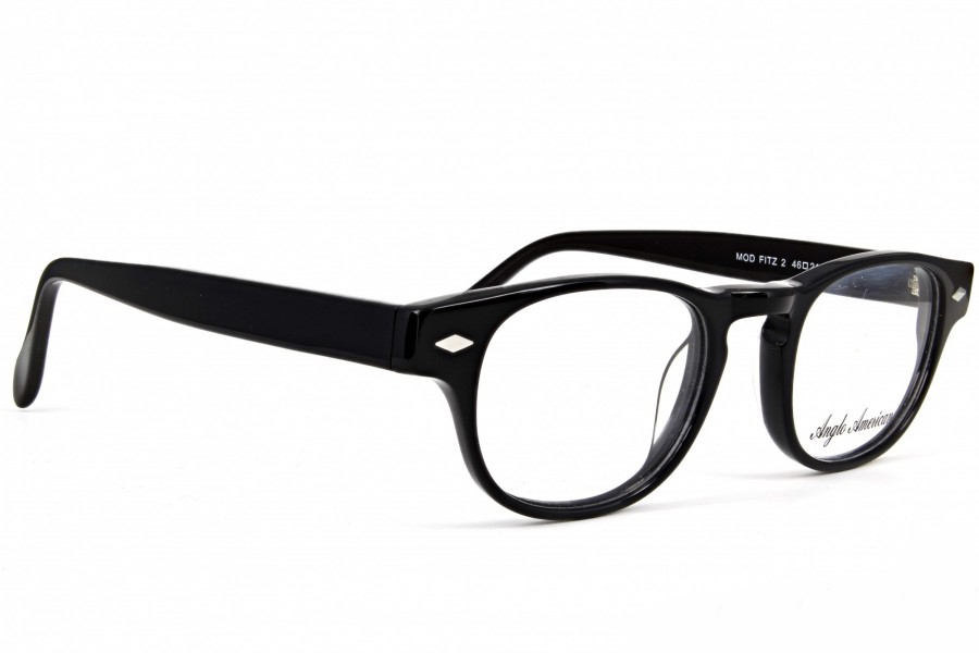 Anglo American Fitz 2 Eyeglasses in BLK