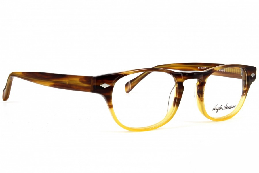 Anglo American Fitz 2 Eyeglasses in GRYO