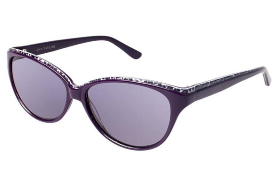 Ann Taylor AT505 Sunglasses in C02 Burgundy / Leopard