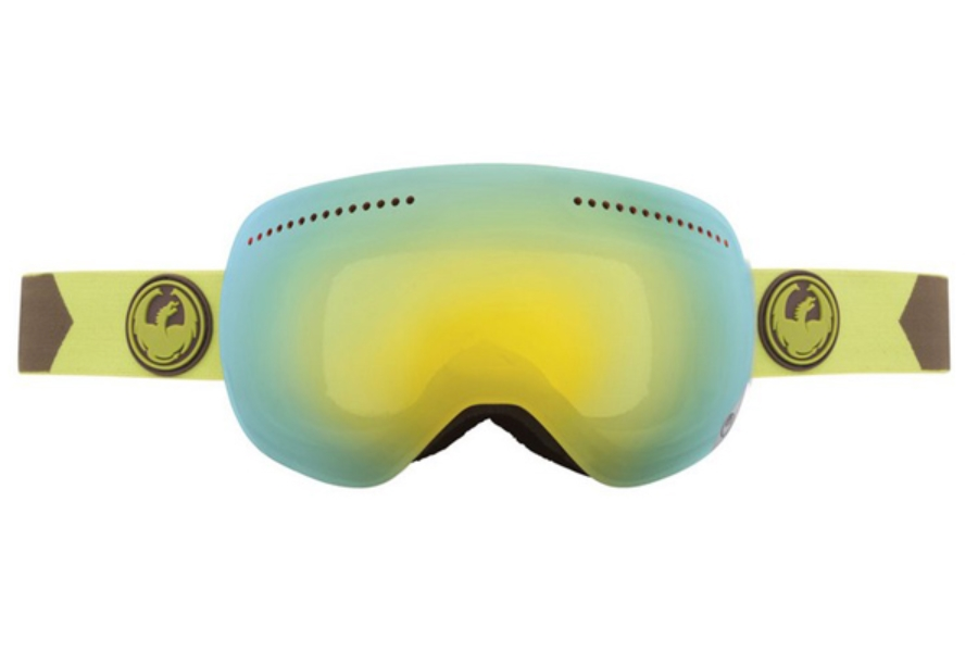 Dragon ADVANCED PROJECTS X - Continued Goggles in Titian/ smoke Gold + Yellow Blue ion