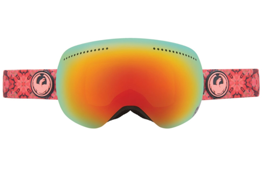 Dragon ADVANCED PROJECTS X - Continued Goggles in PRISM/RED ION +YELLOW BLUE ION