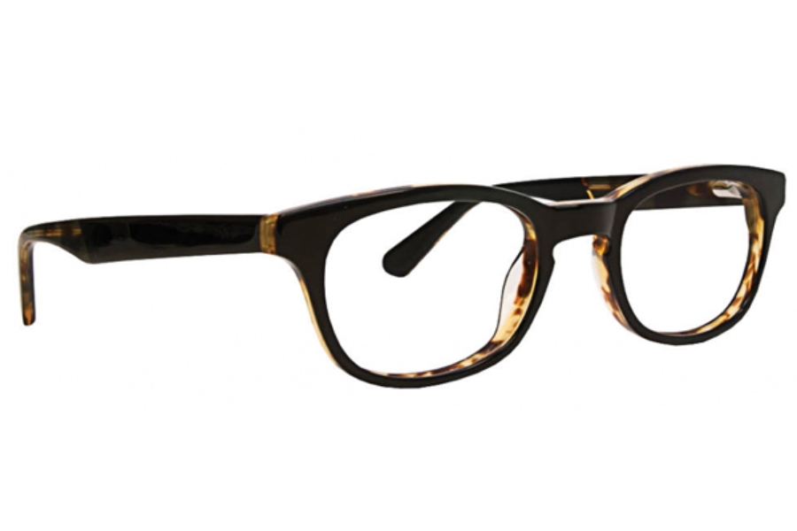 Argyleculture by Russell Simmons Eyeglasses Paxton in Black 50mm