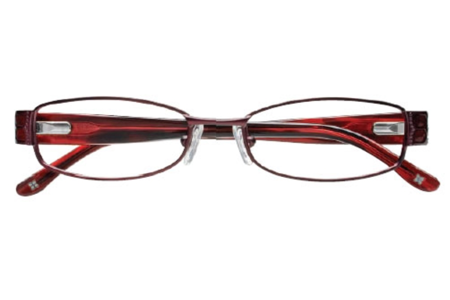 BCBG Max Azria Pennina Eyeglasses in Wine (WIN)