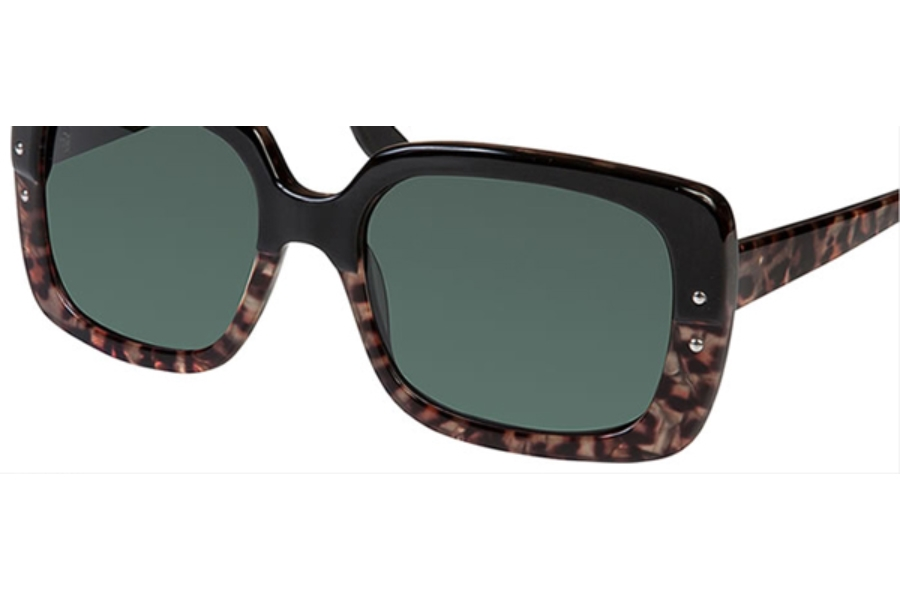Bellagio 5001 Sunglasses in (01) Black / Tiger Print