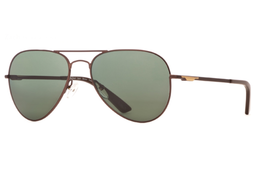 Bobby Jones BJ Zach Sunglasses in Brown