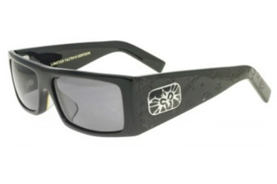 Black Only EdWeb Fly Flys Detector Sunglasses Limited Tattoo mOyN8vn0w