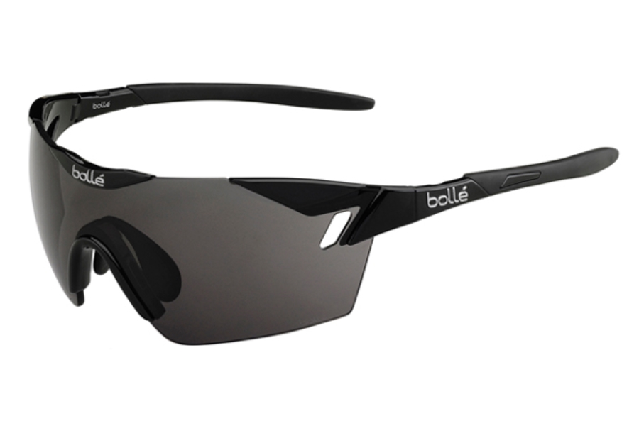 Bolle 6th Sense Sunglasses in 11839 Shiny Black - Black w/ TNS Oleo AF Lenses