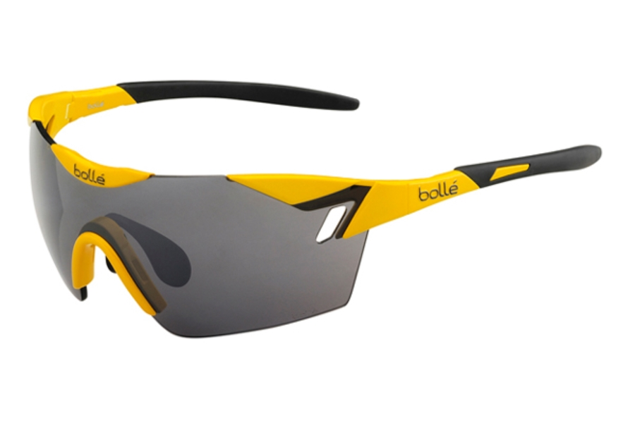 Bolle 6th Sense Sunglasses in 11844 Shiny Yellow - Black w/ TNS Gun Oleo AF Lenses