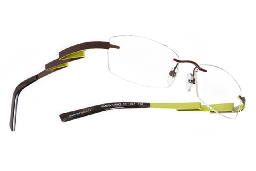 BOZ Pampa Eyeglasses in 9042 Brown - Anise
