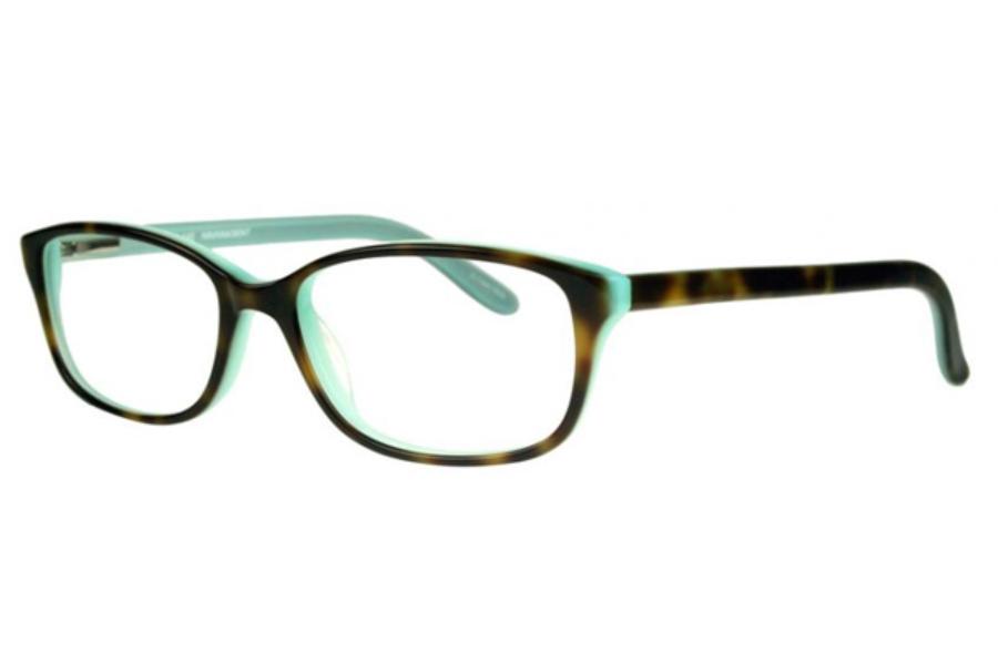 63912fa389 ... Bulova Ixtapa Eyeglasses in Havana Mint ...