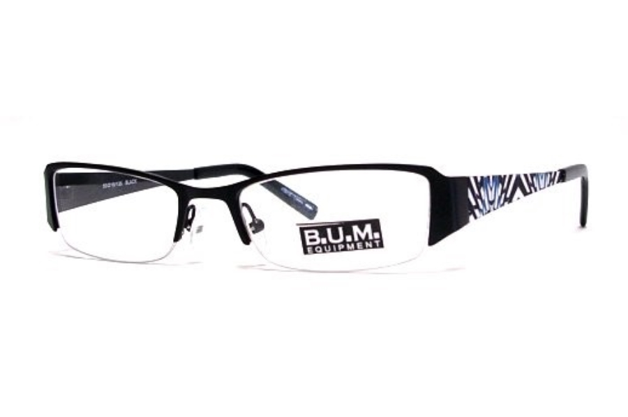 B.U.M. Equipment Comfy Eyeglasses in Black