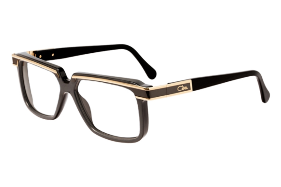 Cazal Legends 650 Eyeglasses in 012 Black Matt-Shiny