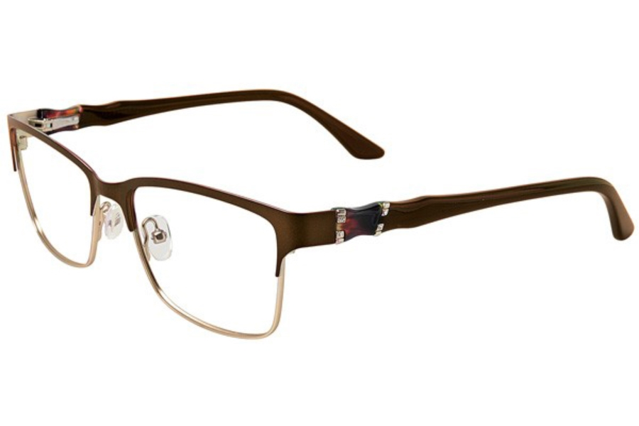 Cafe Boutique CB1016 Eyeglasses in C-1 Almond/Gold
