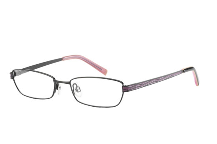 Cosmopolitan Gleaming Eyeglasses in Blackberry
