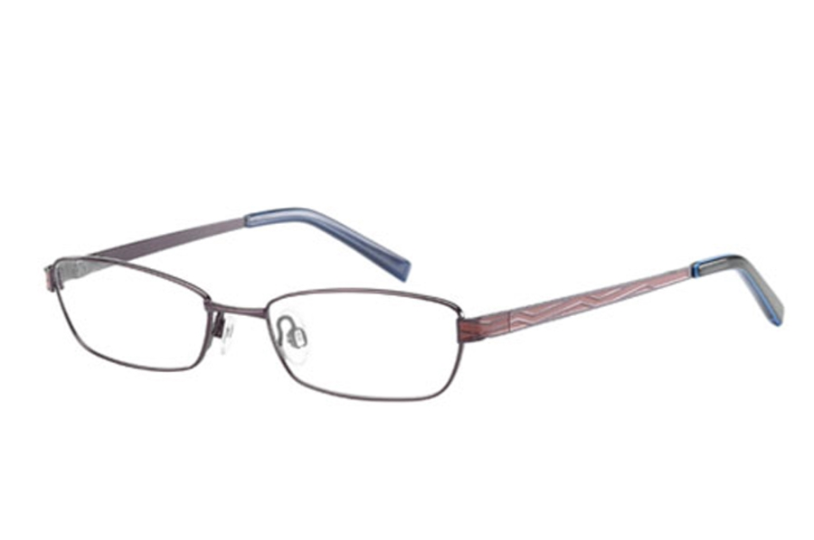 Cosmopolitan Gleaming Eyeglasses in Port