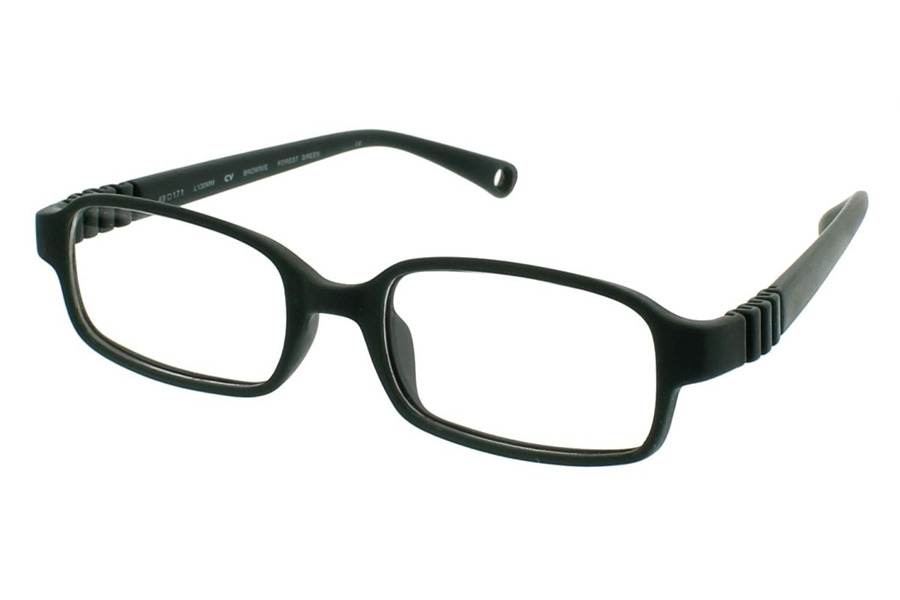 dilli dalli Brownie Eyeglasses in Forest Green