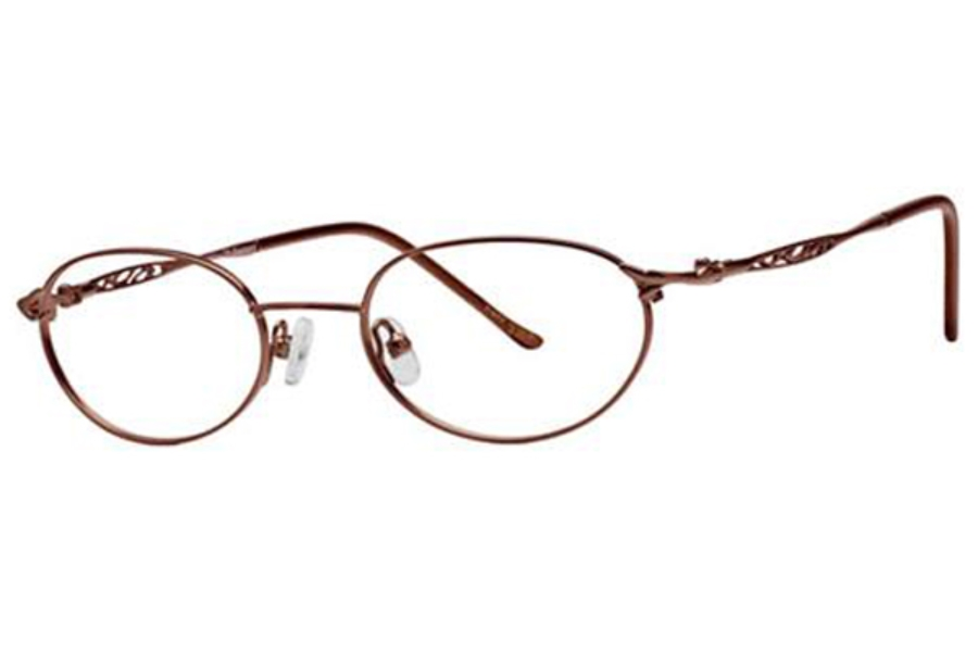 Destiny Geanna Eyeglasses in Honey