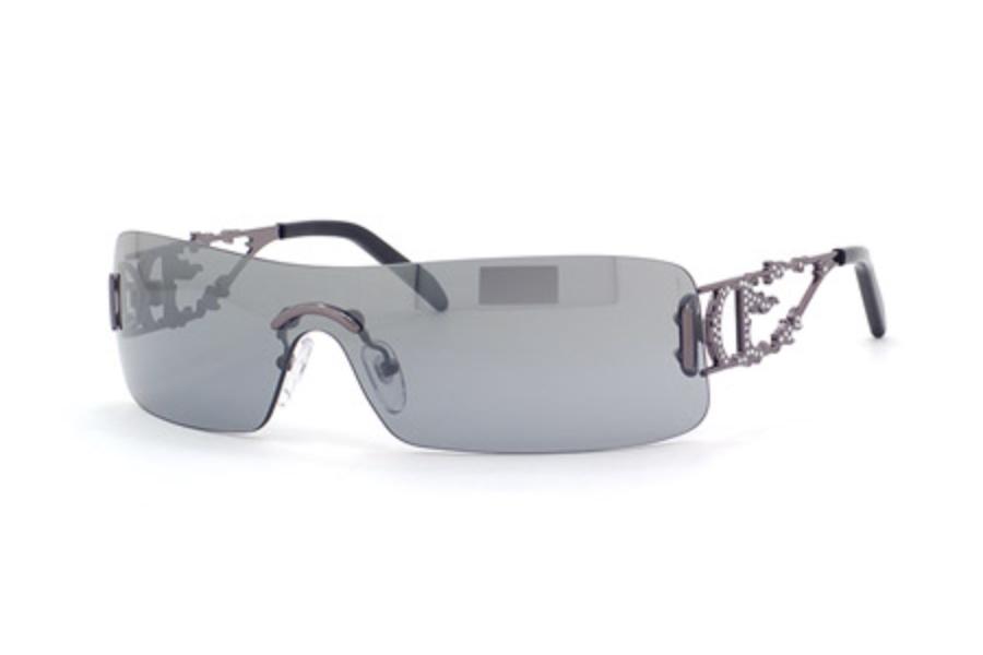 1bab5b1cc9 Christian Dior DIOR FIRE S Sunglasses in 0TW3 (SC) GUNMETAL (SILVER MIR ...