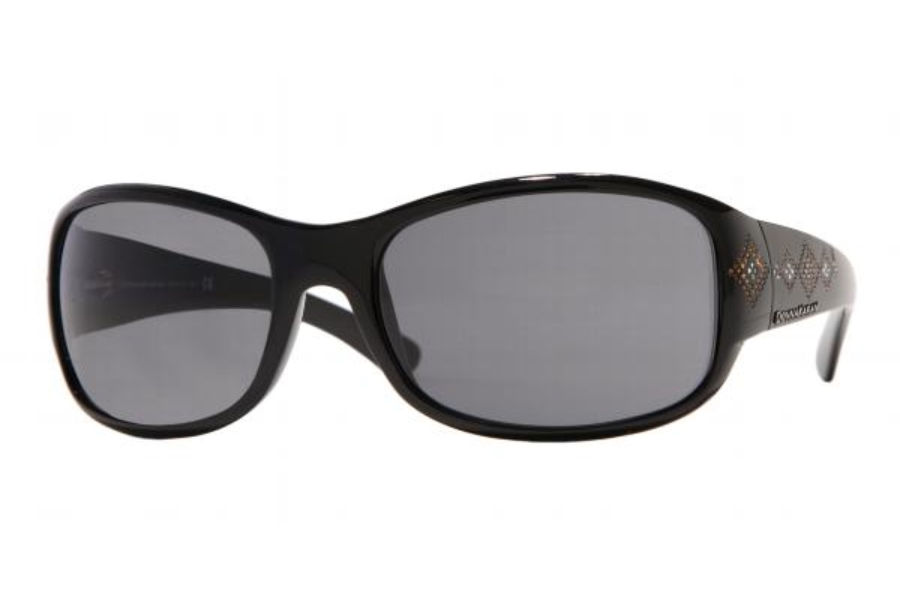 Donna Karan DK 1059B Sunglasses in 329/087 Black w/Grey Lenses