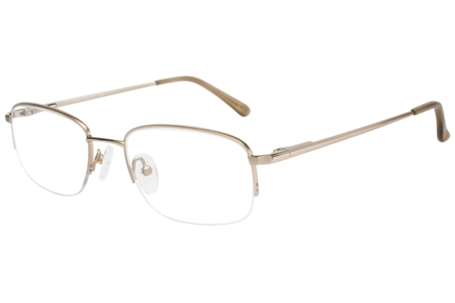Durango Series Drake Eyeglasses in C-1 Yellow Gold