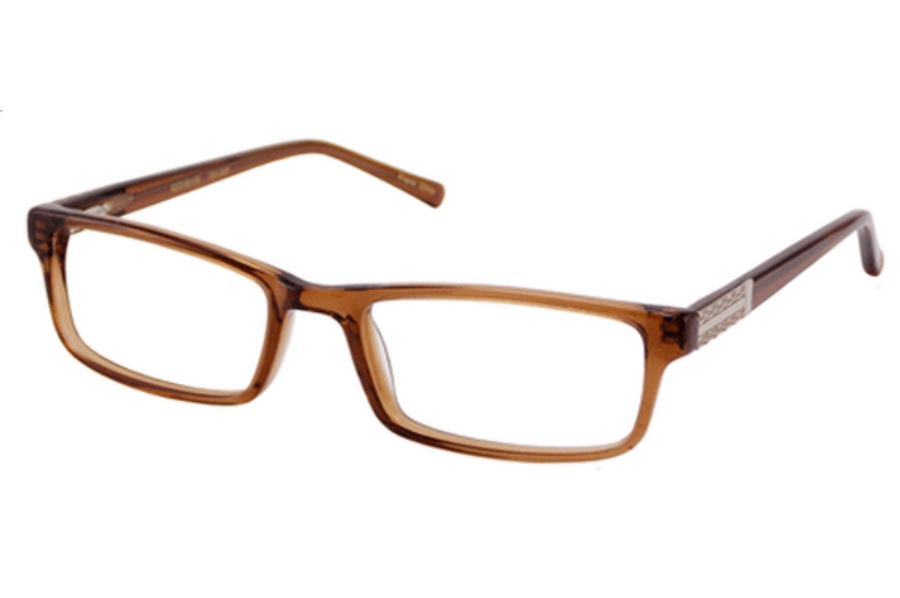 Donald J. Trump DT 75 Eyeglasses in Brown Crystal