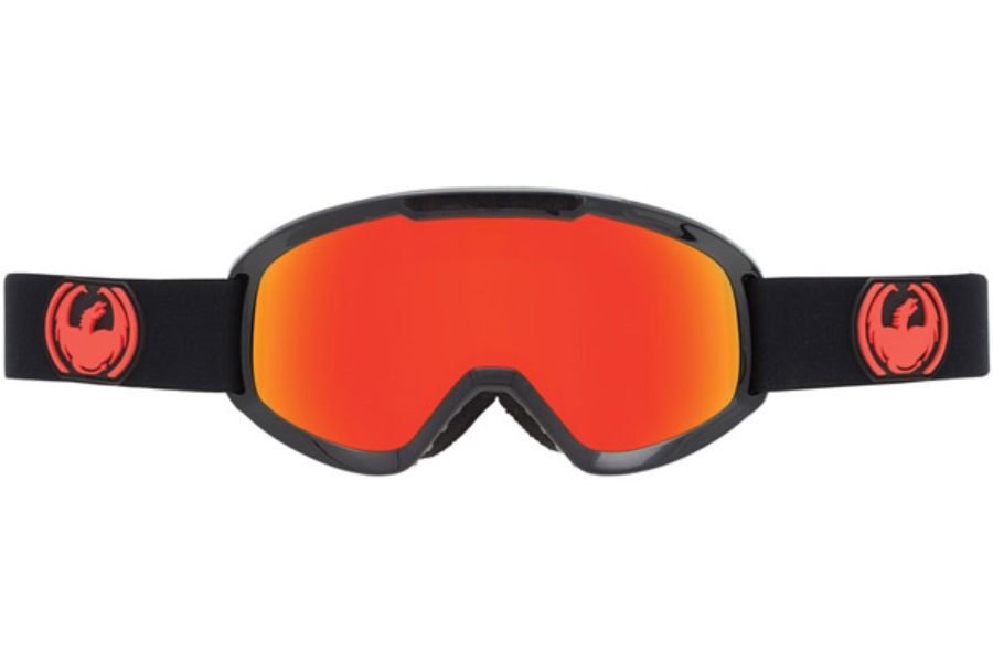 Dragon DX2 Goggles in JET / RED ION + YELLOW BLUE ION