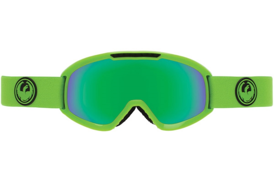 Dragon DX2 Goggles in REFLECT / GREEN ION