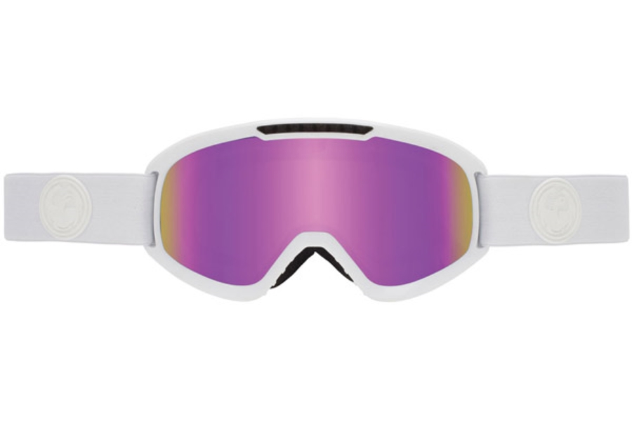 Dragon DX2 Goggles in WHITEOUT / PINK ION + IONIZED