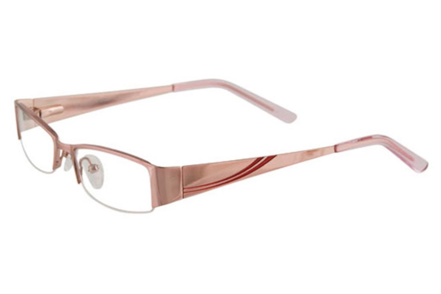 EasyLook EC198 Eyeglasses in 30 SHN LIGHT PINK & RED