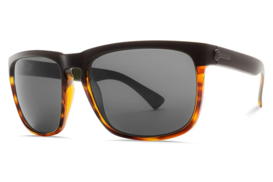 OHM Plasma Chrome Sunglasses Electric Visual Knoxville XL Smoke Screen