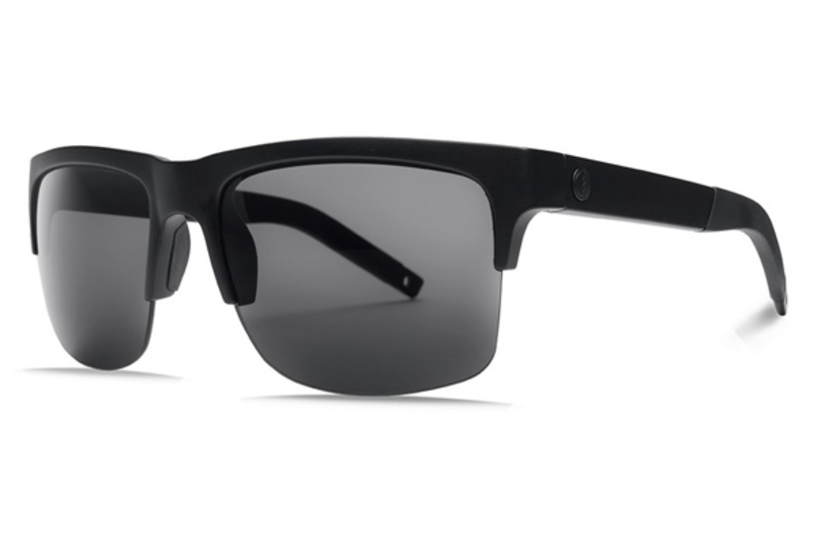 Electric Knoxville Pro Sunglasses in EE16101042 Matte Black w/ Ohm Polarized Grey