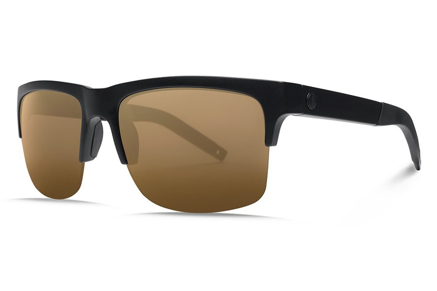 Electric Knoxville Pro Sunglasses in EE16101066 Matte Black/Ohm+ Polar Bronze