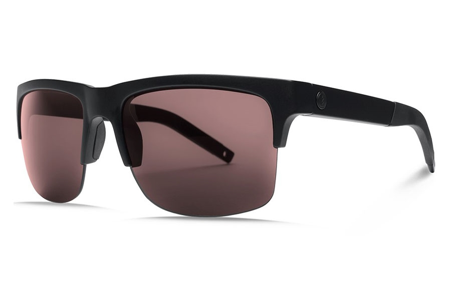 Electric Knoxville Pro Sunglasses in EE16101084 Matte Black/Ohm+ Rose