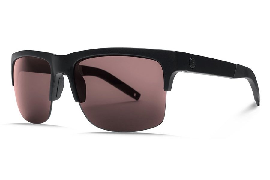 Electric Knoxville Pro Sunglasses in EE16101091 Matte Black/Ohm+ Polar Rose