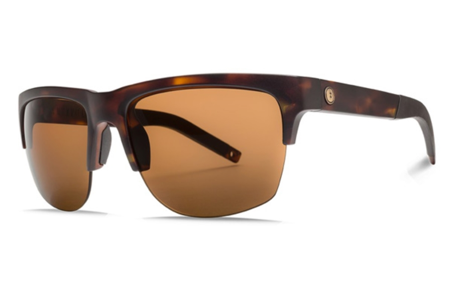 Electric Knoxville Pro Sunglasses in EE16113939 Matte Tort w/ Ohm Bronze