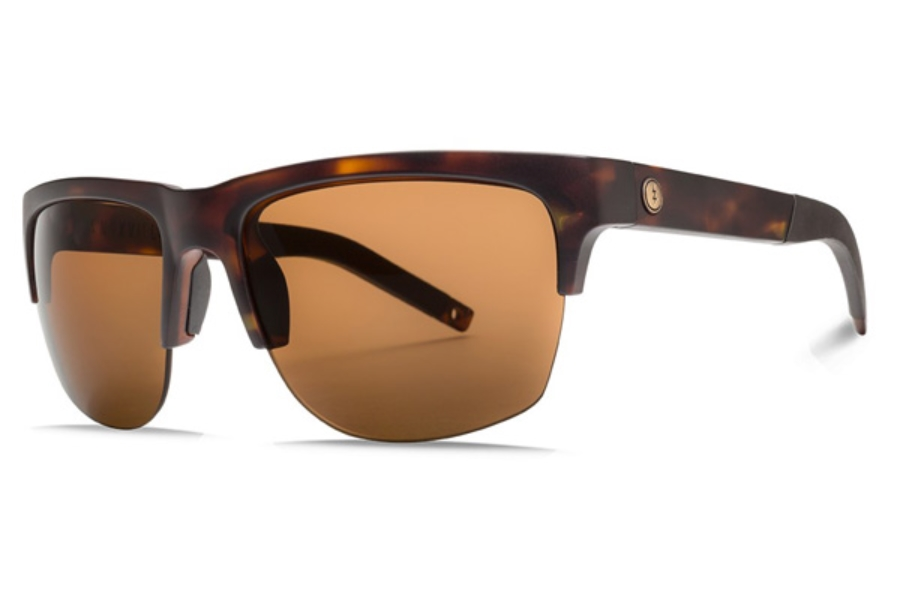 Electric Knoxville Pro Sunglasses in EE16113943 Matte Tort w/ Ohm Polar Bronze