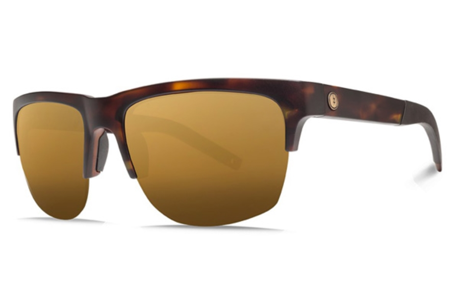 Electric Knoxville Pro Sunglasses in EE16113966 Matte Tort w/ Ohm+ Polar Bronze