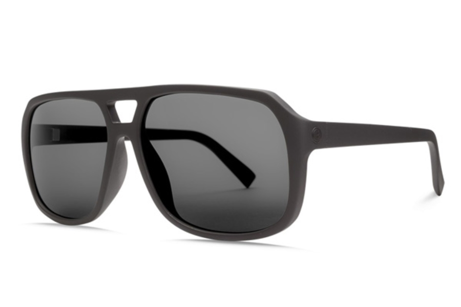 Electric Dude Sunglasses in EE16701042 Matte Black w/ Ohm Polar Grey
