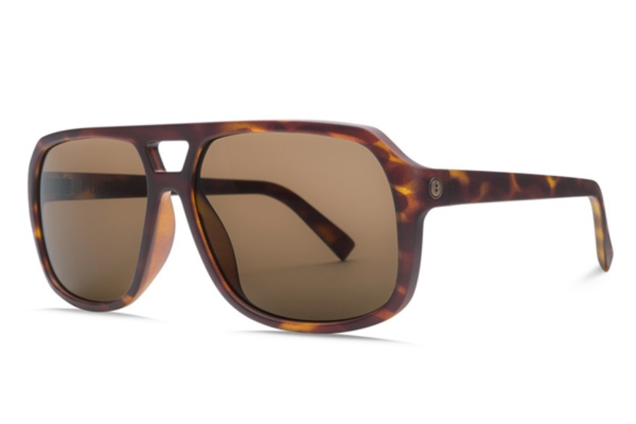 Electric Dude Sunglasses in EE16713943 Matte Tort w/ Ohm Polar Bronze