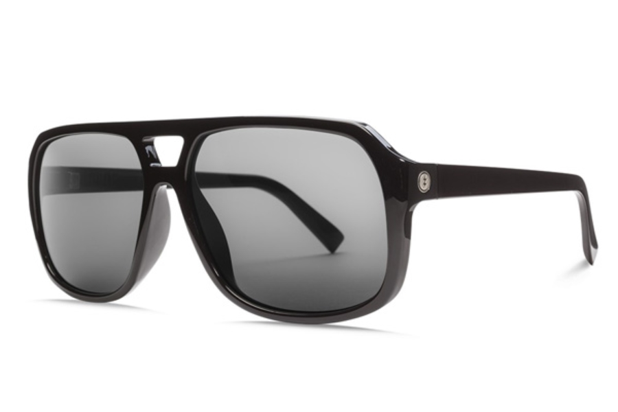 Electric Dude Sunglasses in EE16701620 Gloss Black w/ Ohm Grey (Discontinued)
