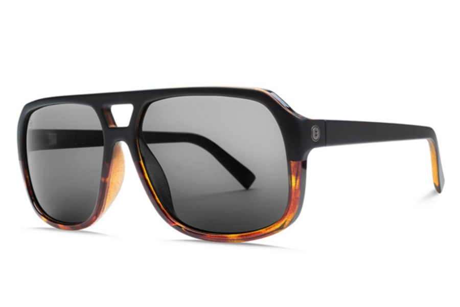 Electric Dude Sunglasses in EE16762320 Darkside Tort w/ Ohm Grey