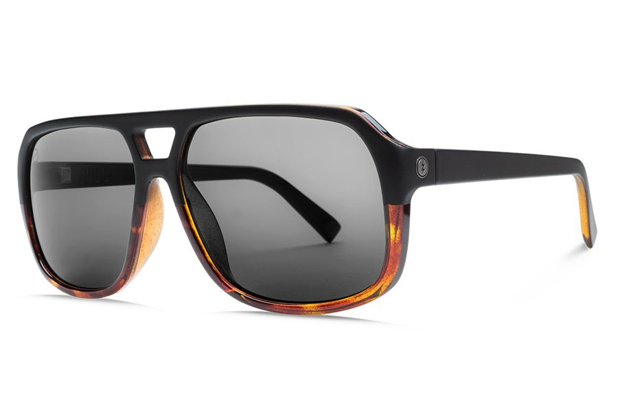 Electric Dude Sunglasses in EE16762342 Darkside Tort/Ohm Polar Grey (Discontinued)