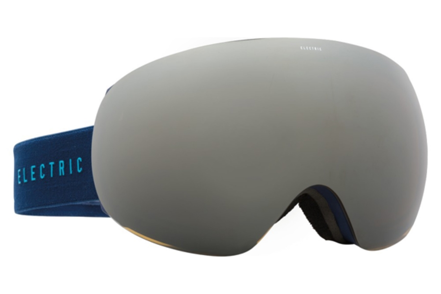Electric EG3 Goggles in EG1215100 Navy Cyan / Bronze Silver Chrome